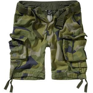 Brandit Savage Vintage Shorts Swedish Camo M90
