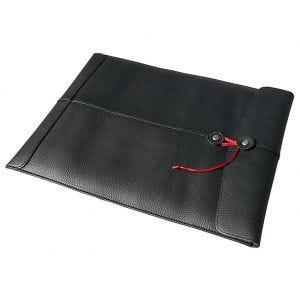 "Civilian Pro Manila-15 Leather Laptop Sleeve for MacBook Pro 15"" Black"
