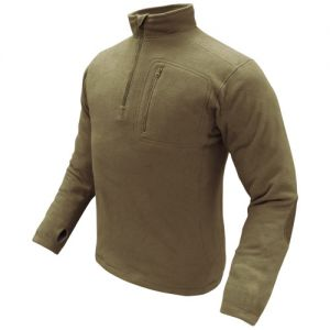 Condor 1/4 Zip Fleece Pullover Tan