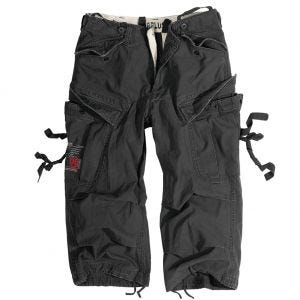Surplus Engineer Vintage 3/4 Shorts Black