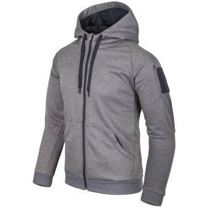 Helikon Urban Tactical Hoodie Full Zip Melange Grey