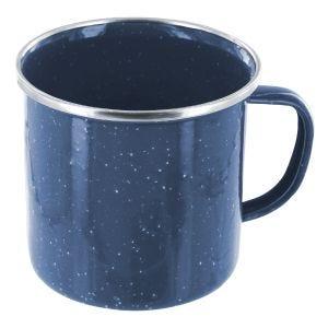 Highlander Deluxe Enamel Mug Navy Blue