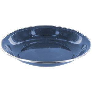 Highlander Deluxe Enamel Soup Plate Navy Blue