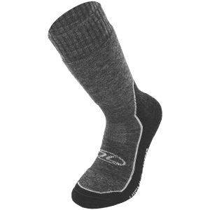 Highlander X-plorer Merino Wool Hiking Sock Grey