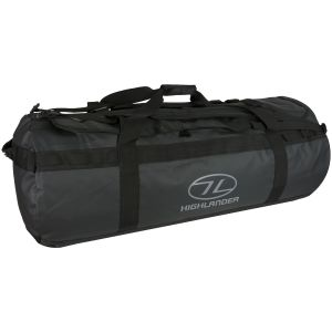 Highlander Lomond Tarpaulin 120L Duffle Bag Black