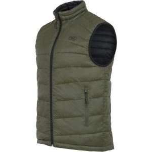 Highlander Reversible Gilet Black / Olive