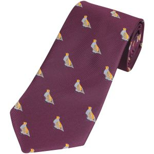 Jack Pyke Tie Partridge Wine