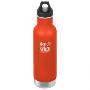 Klean Kanteen 592ml Classic Insulated Bottle Loop Cap Sierra Sunset