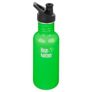 Klean Kanteen Classic 532ml Bottle with Sport Cap 3.0 Spring Green