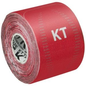 "KT Tape Consumer Synthetic Pro Precut 10"" Rage Red"
