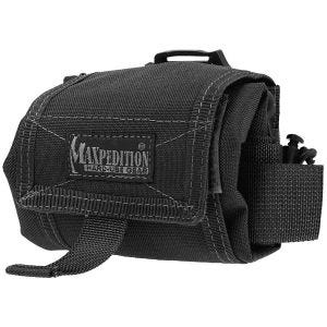 Maxpedition Mega Rollypoly Folding Dump Pouch Black