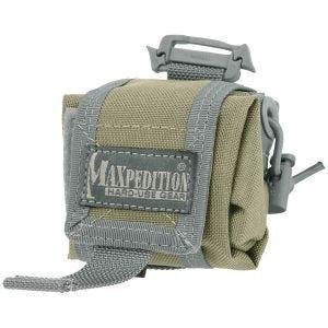 Maxpedition Mini Rollypoly Folding Dump Pouch Khaki Foliage