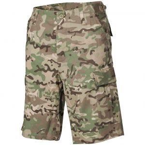 MFH US BDU Bermuda Shorts Operation Camo