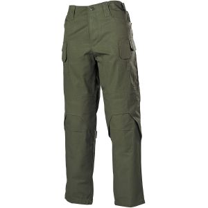 MFH Mission Combat Trousers Ripstop OD Green