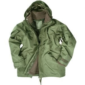 Mil-Tec ECWCS Jacket with Fleece Olive