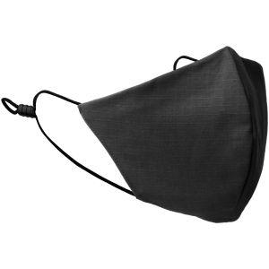 Mil-Tec Mouth/Nose Cover V-Shape Ripstop Black