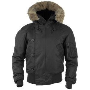 Mil-Tec N-2B Flight Jacket Black