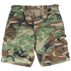 US Prewashed Ripstop Bermuda Shorts Woodland
