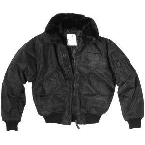 CWU-45P Jacket with Fur Collar Black
