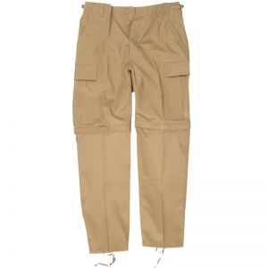 Zip-Off Combat Trousers Khaki