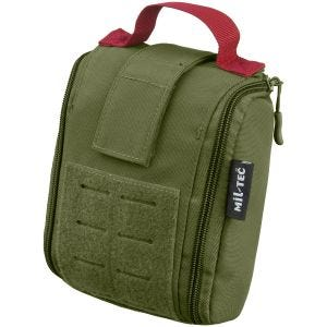Mil-Tec Individual First Aid Kit Laser Cut Pouch Olive