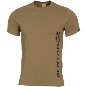 Pentagon Ageron Pentagon Vertical T-Shirt Coyote