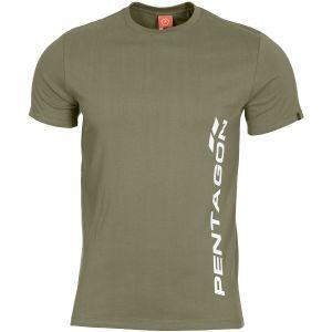 Pentagon Ageron Pentagon Vertical T-Shirt Olive