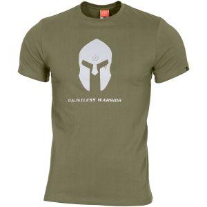 Pentagon Ageron Spartan Helmet T-Shirt Olive