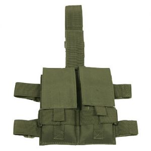 MFH Tactical Leg Pouch Double Magazine Olive