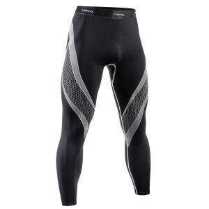 Tervel Optiline Running Leggings Black/Light Grey