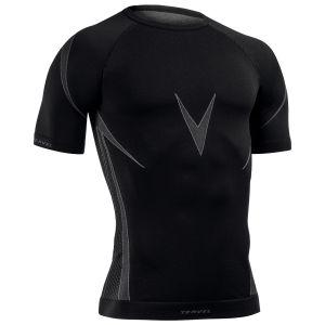 Tervel Optiline OPT 1107 Shirt Short Sleeve Black/Grey