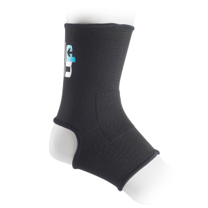 Ultimate Performance Elastic Ankle Support Black