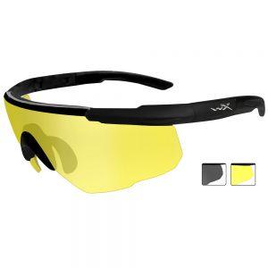 Wiley X Saber Advanced - Smoke Grey + Pale Yellow Lens / Matte Black Frame