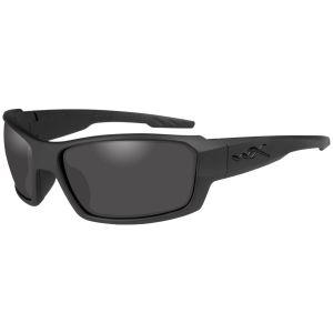 Wiley X WX Rebel Glasses - Smoke Grey Lens / Matte Black Frame
