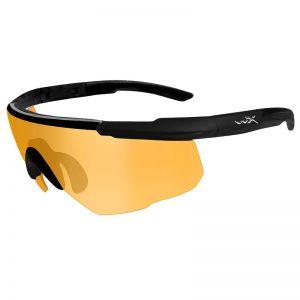 Wiley X Saber Advanced Glasses - Light Rust Lens / Matte Black Frame