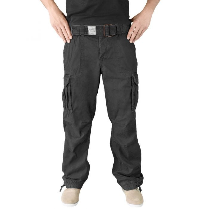 Surplus Premium Vintage Trousers Black