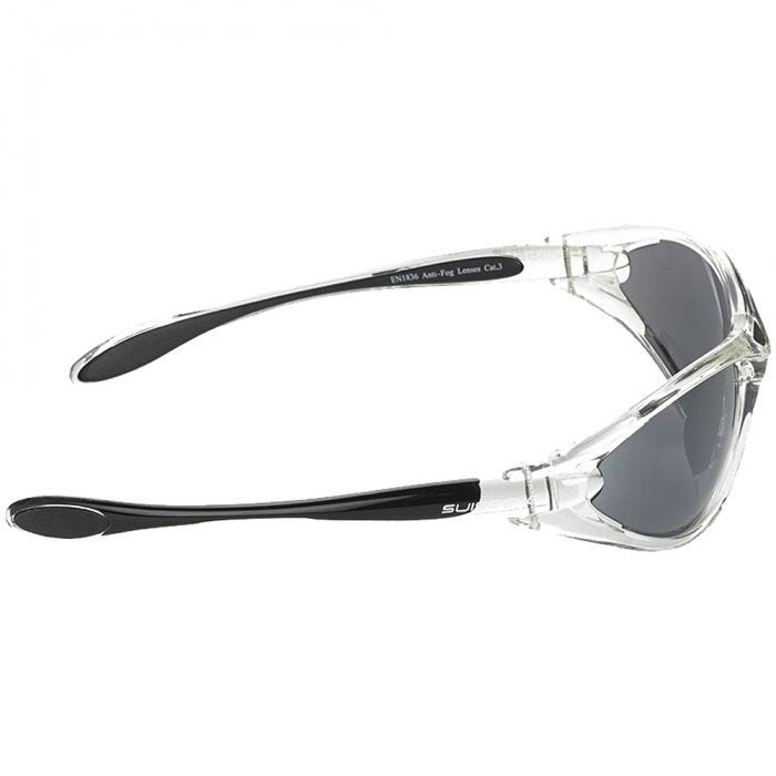 Swiss Eye Constance Sunglasses - Smoke FM + Orange + Clear Lens / Crystal Black Frame