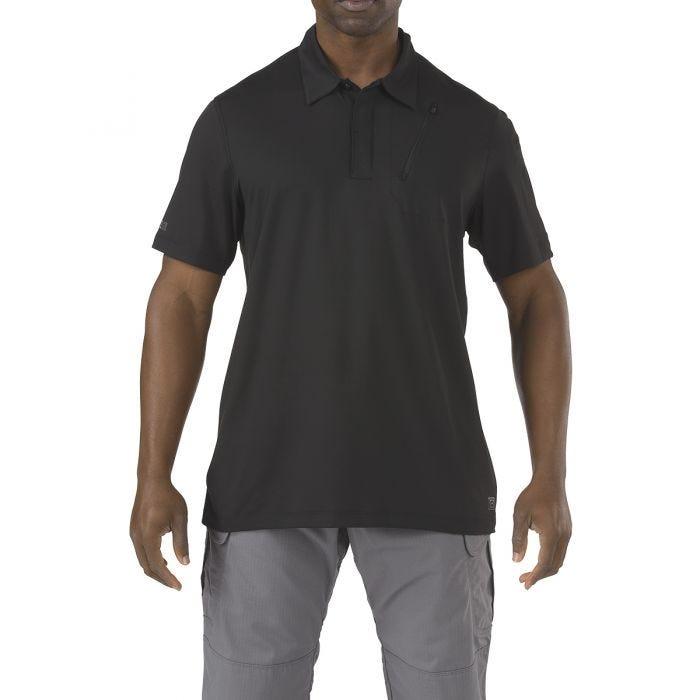 5.11 Odyssey Polo Short Sleeve Black