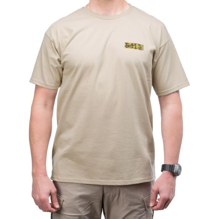 5.11 Buckshot Logo T-Shirt Tan