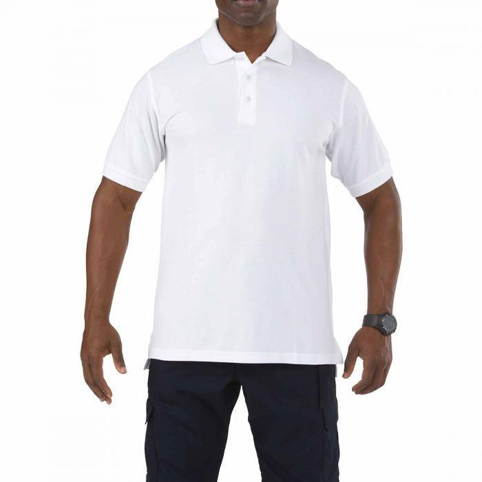 5.11 Professional Polo Short Sleeve White