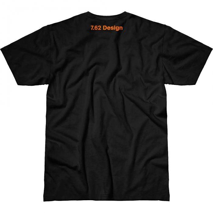 7.62 Design Returning Fire T-Shirt Black