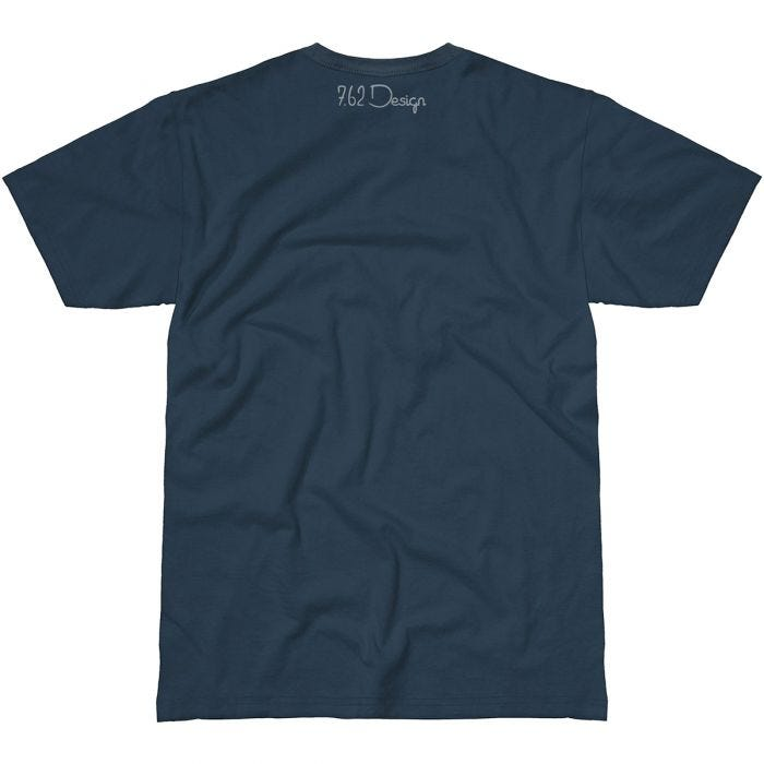 7.62 Design Aunt Samantha T-Shirt Indigo Blue