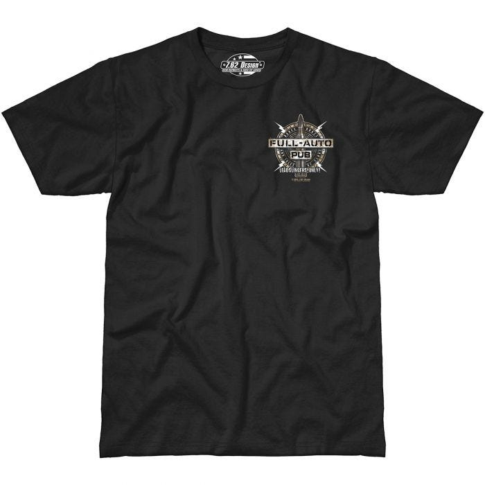 7.62 Design Full-Auto Pub T-Shirt Black