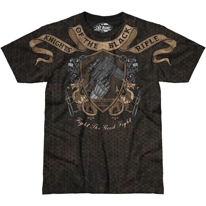 7.62 Design Knights Of The Black Rifle T-Shirt Black