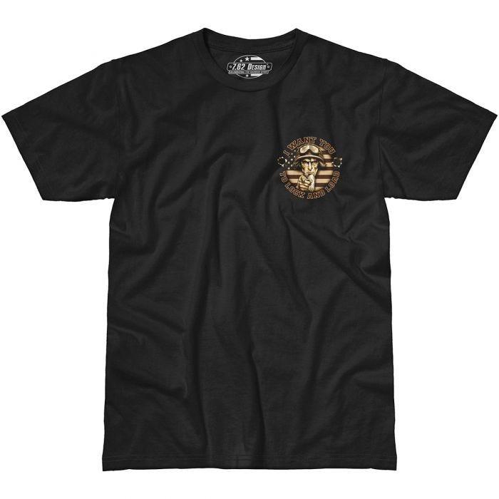 7.62 Design Sam The Grunt T-Shirt Black