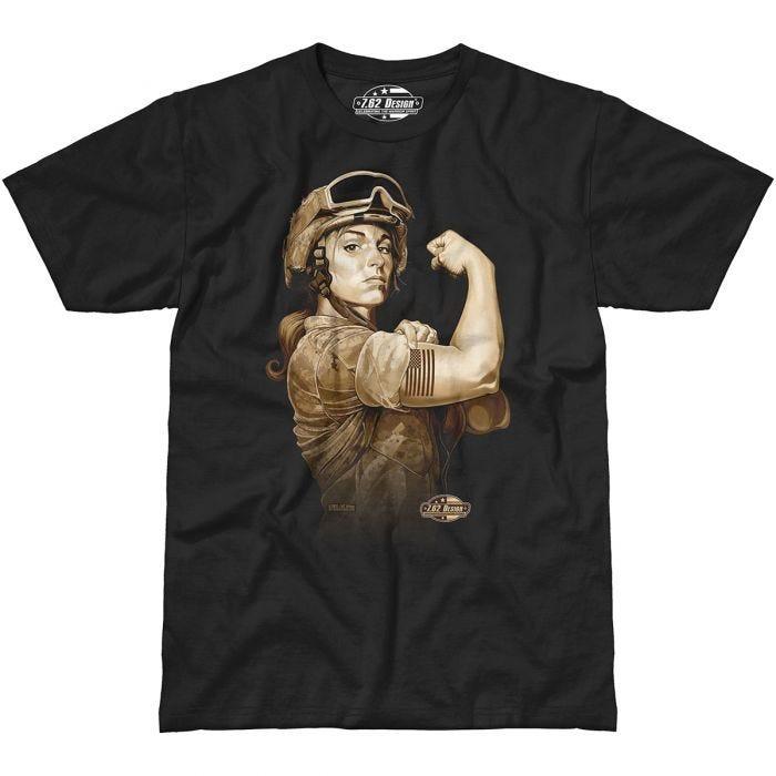7.62 Design Sergeant Sara T-Shirt Black