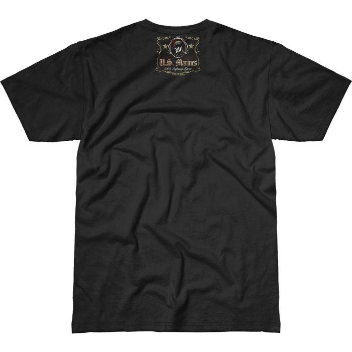7.62 Design USMC Fighting Spirit Battlespace T-Shirt Black