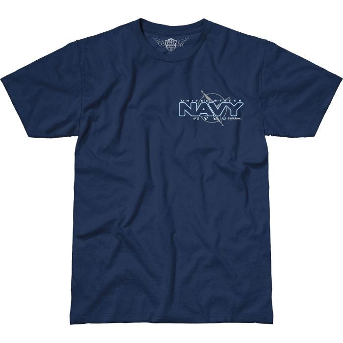 7.62 Design USN Compass Battlespace T-Shirt Navy