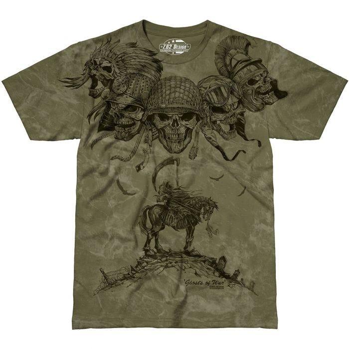 7.62 Design Ghosts of War T-Shirt Military Green