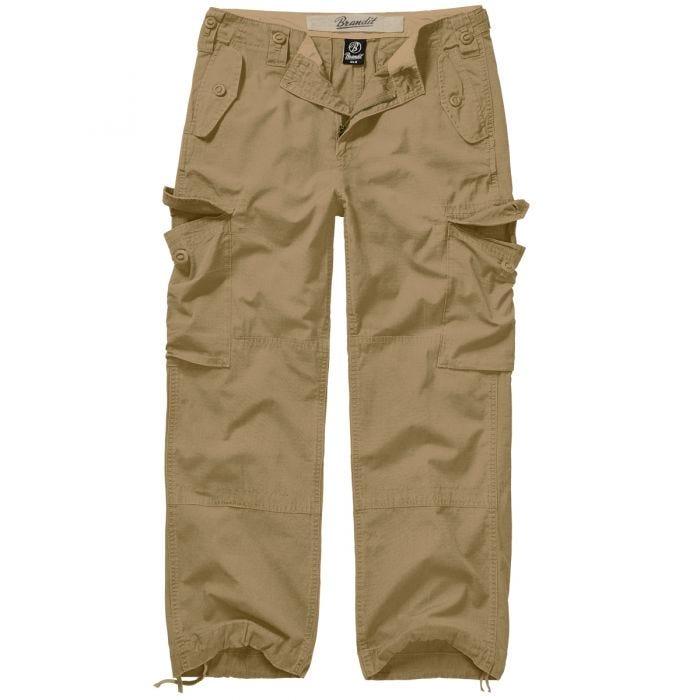 Brandit Hudson Ripstop Trousers Camel